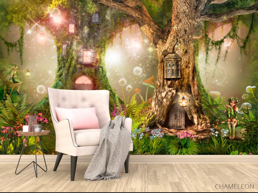 Фотообои Сказочный лес - 4