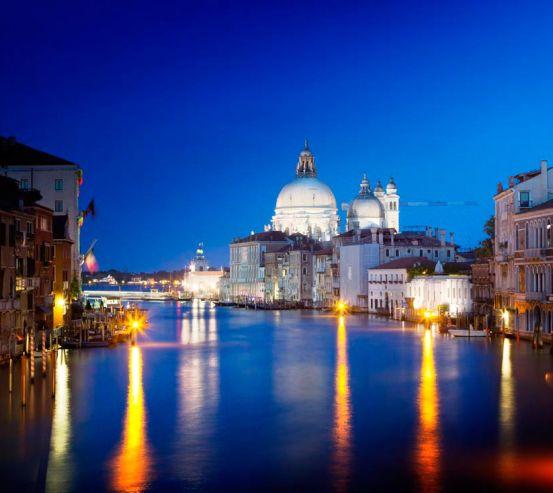 Фотообои Ночная Италия 7858