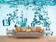 Фотообои Лёд, вода - 1