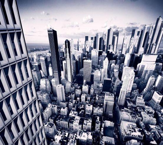 Фотообои Рост города 1932