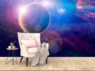 Фотообои Планета и млечный путь - 4