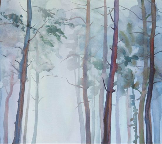 Фотообои Абстрактные деревья 25755