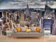 Фотообои Тучи свет New York - 1