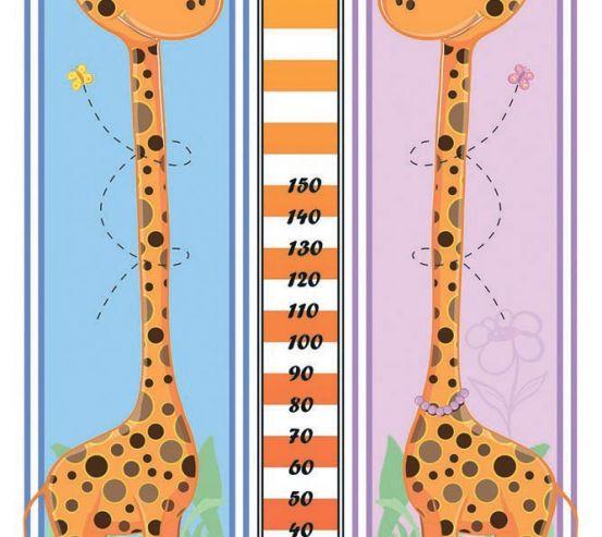 Фотообои 2 жирафа 18836