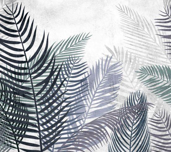 Фотообои Тропические листья 24212