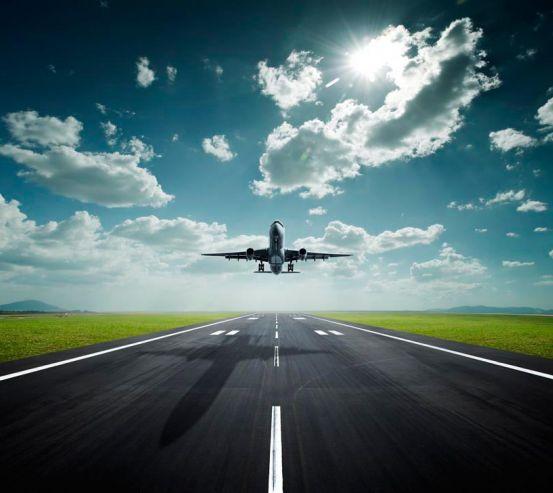 Фотообои Взлет самолета 0950