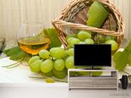Фотообои зеленый виноград - 2