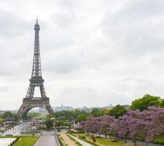 Фотообои небо Парижа 21373
