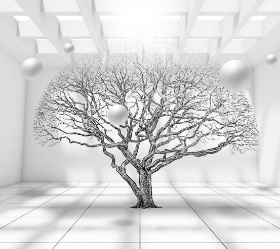 Фотообои дерево 3д 20097-h