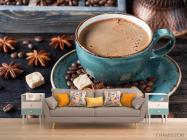 Фотообои кофе - 1