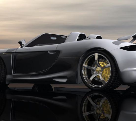 Фотообои Porsche Carrera GT 20292