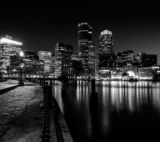 Фотообои Набережная  ночью 9754