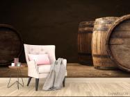 Фотообои бочки с вином - 4