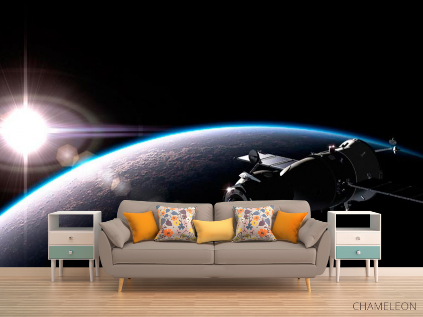 Фотообои Спутник и планеты - 1