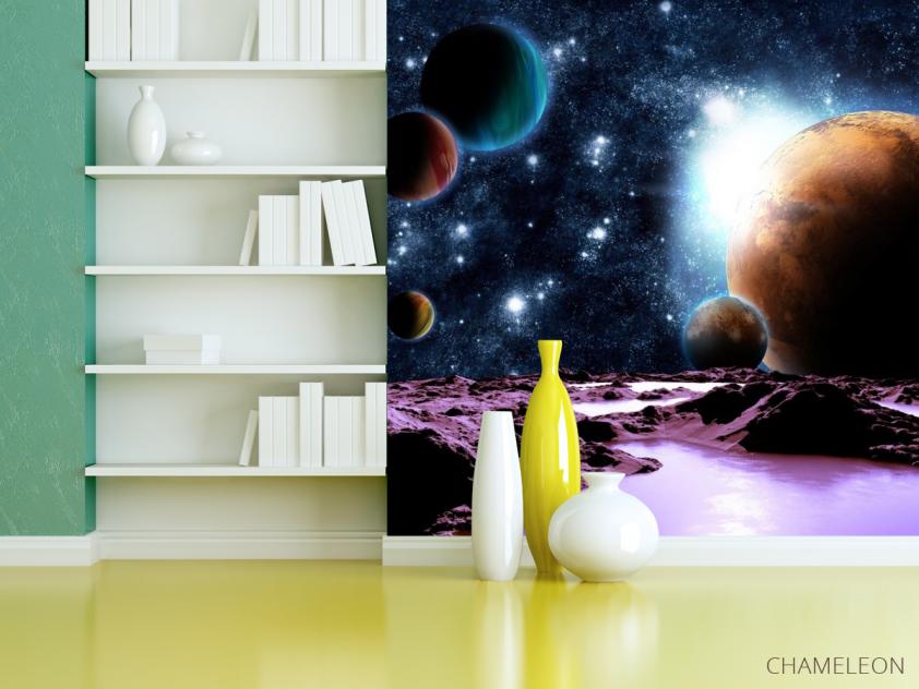 Фотообои 6 планет - 3