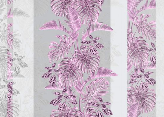 Фотообои Дизайнерские листья монстеры