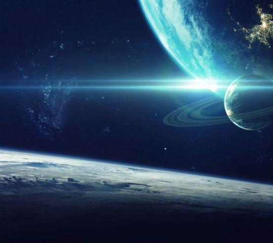 Фотообои Космические планеты 26935