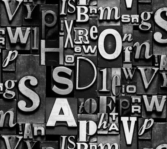 3д фотообои Буквы 19788