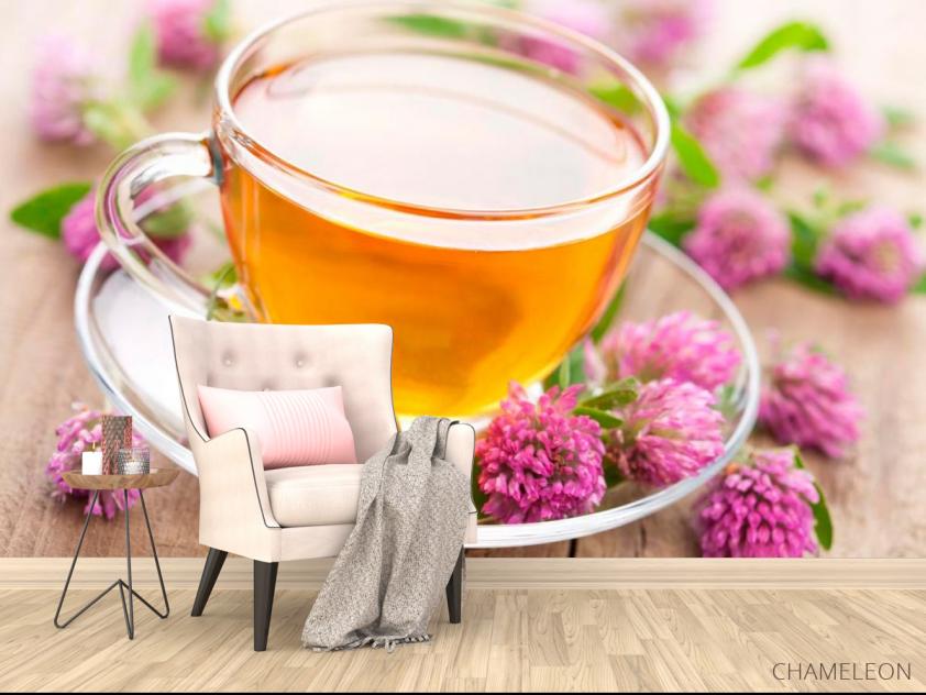 Фотообои Чай, клевер - 4