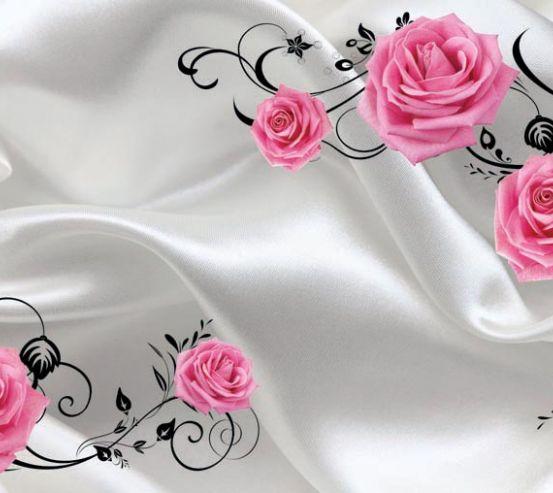 Фотообои Цветы, стена 15744