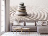 Фотообои камни на песке - 3