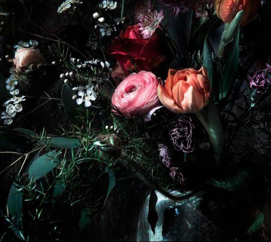 Фотообои 3Д Цветы 19867