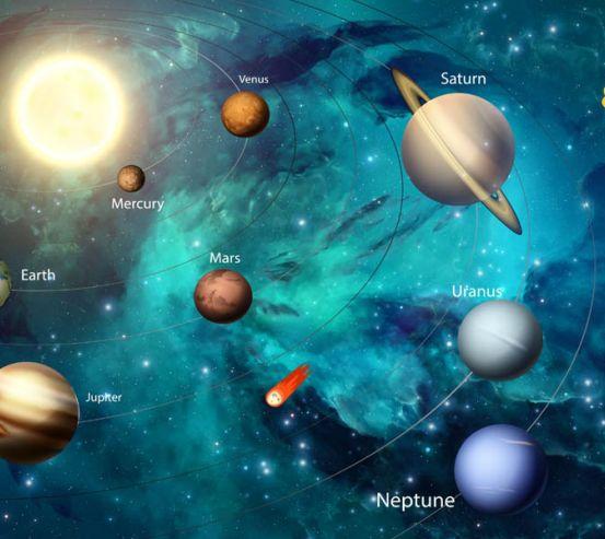 Фотообои Планеты солнечной системы 29078