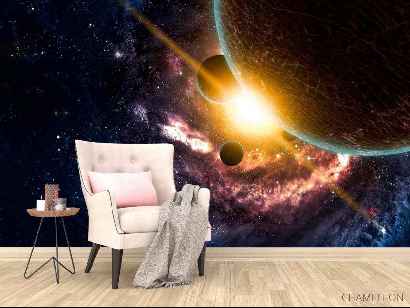Фотообои Галактика и планеты - 4