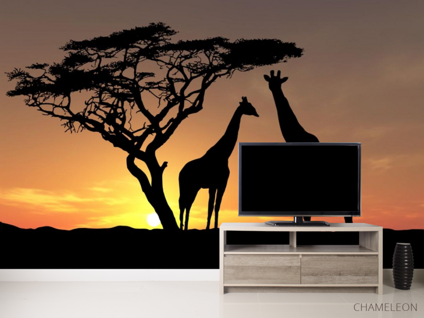 Фотообои жирафы - 2