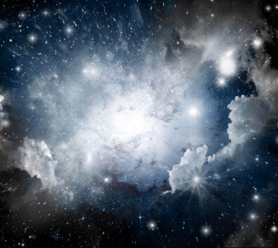 Фотообои Космос для потолка 22525
