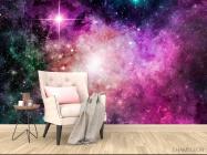 Фотообои Фиолетовая туманность - 4