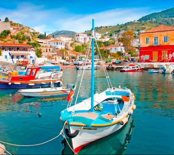 Човни на Грецьких островах 5105