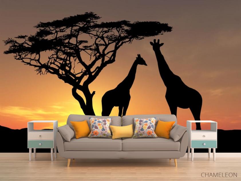 Фотообои жирафы - 1