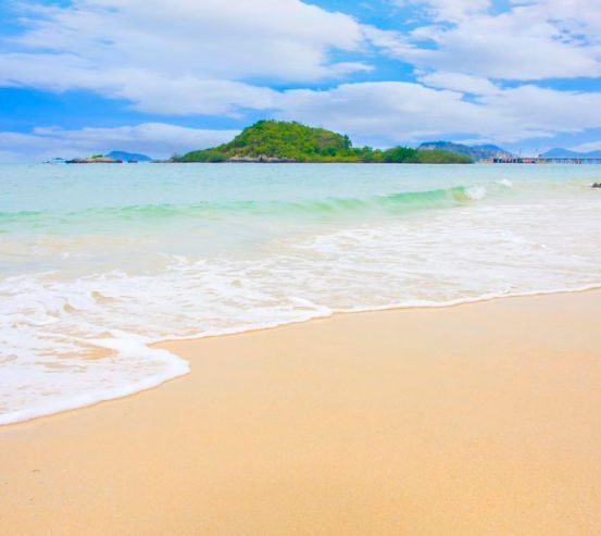 Фотообои Безлюдный пляж 8702