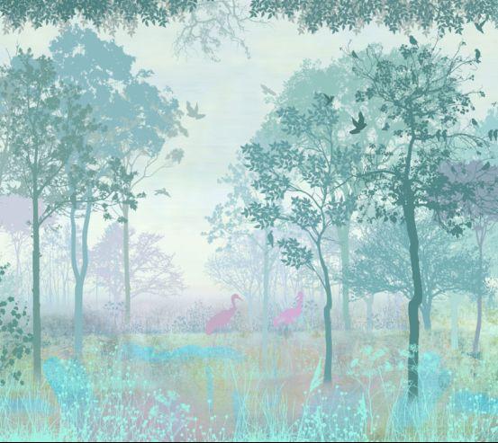 Фотообои Сказочный лес  19995