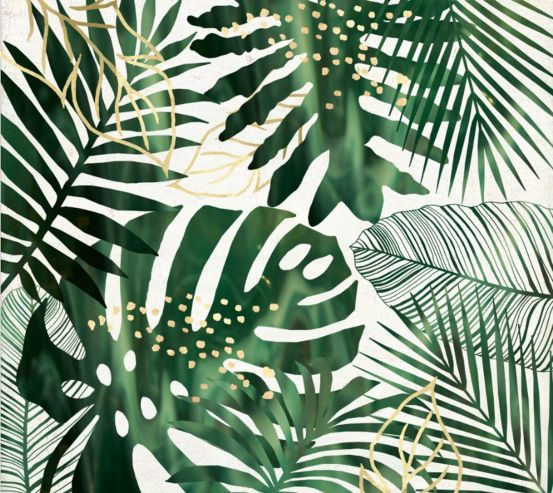 Фотообои Тропические листья 25942
