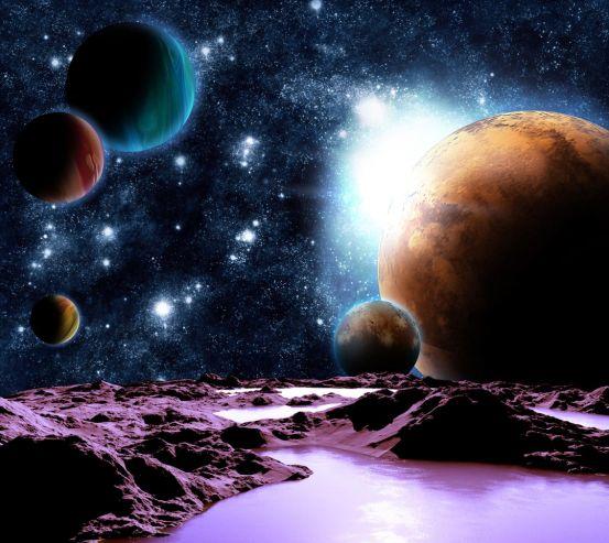 Фотообои 6 планет 20482