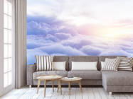 Фотообои пушистые облака - 3