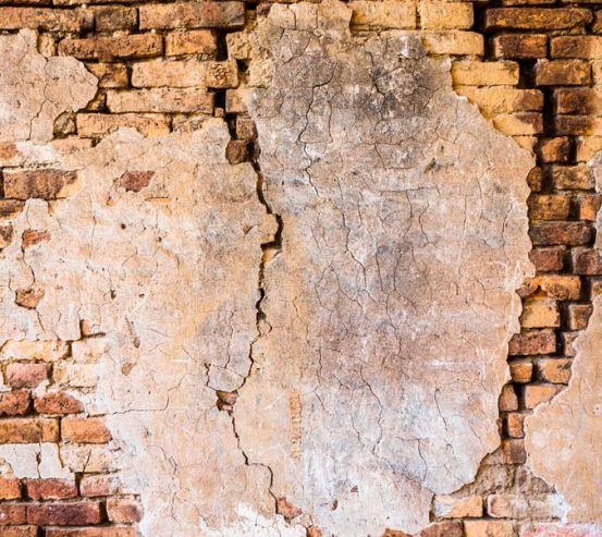 Фотошпалери Коричнева вертикальна стіна 20245