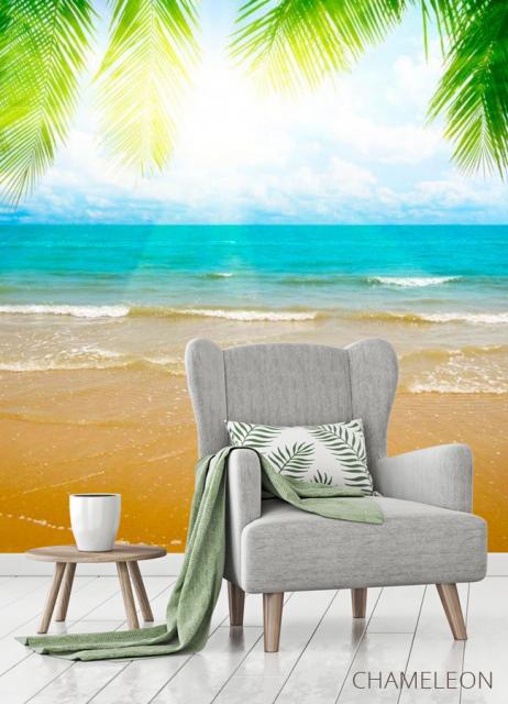 Фотообои Восход на лазурном пляже - 3