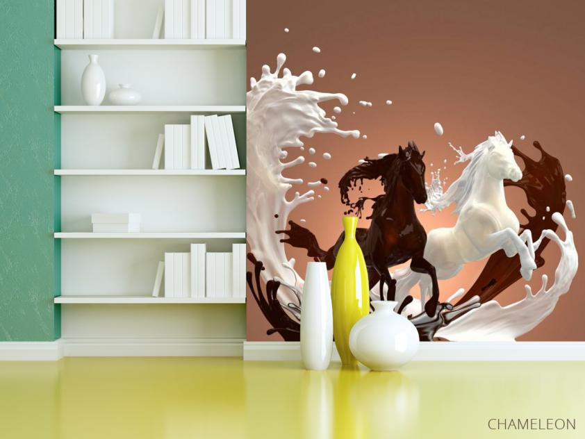 Фотообои Молоко, шоколад - 3