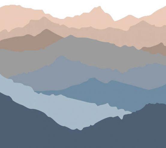 Фотообои Горы в скандинавском стиле 22455