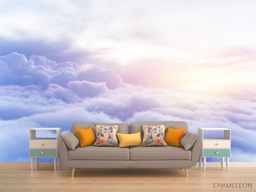 Фотообои пушистые облака - 1