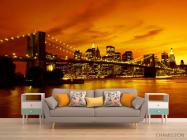 Фотообои Ночной мост Бруклина - 1