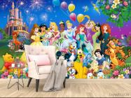 Фотообои Все принцессы у замка - 4