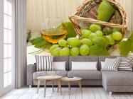 Фотообои зеленый виноград - 3