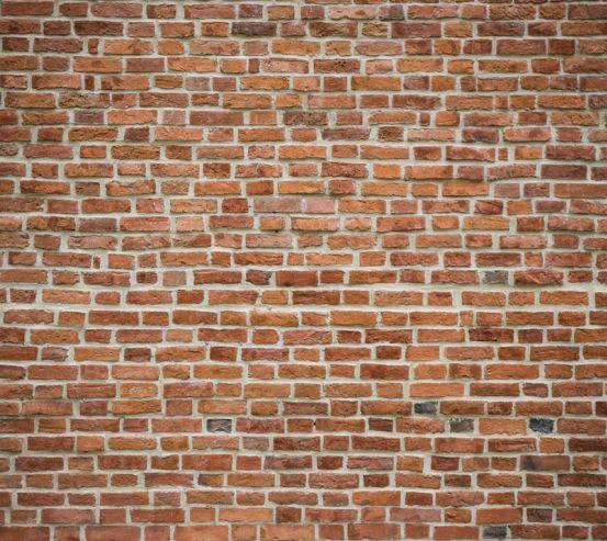Фотошпалери Оранжево-біла цегляна стіна 21175