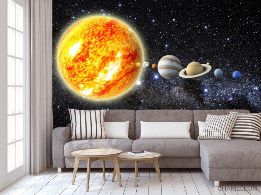 Фотообои Планеты солнечной системы - 3