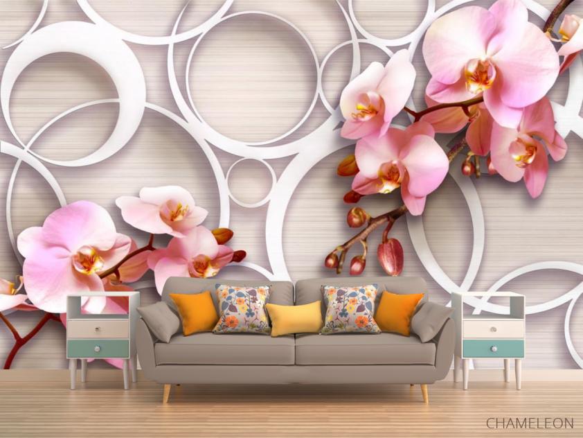 Фотообои Орхидеи 3д - 1