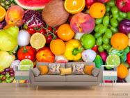 Фотообои фрукты и овощи - 1